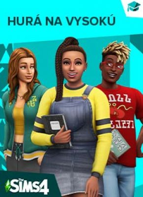 Obal hry The Sims 4 Hurá na vysokú