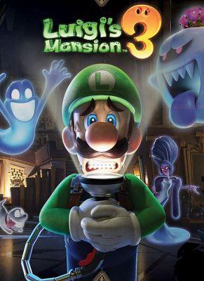 Obal hry Luigi's Mansion 3