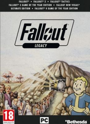 Obal hry Fallout Legacy  Collection