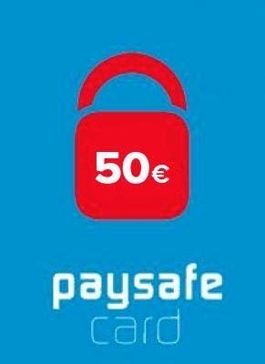 Obal hry PaySafeCard 50€