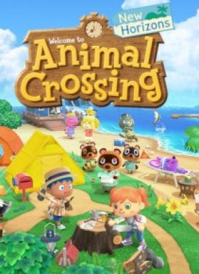 Obal hry Animal Crossing New Horizons
