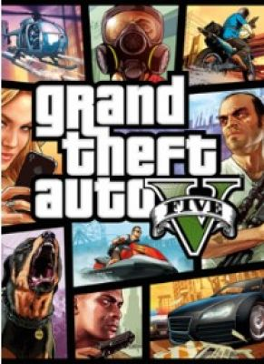 Obal hry Grand Theft Auto 5