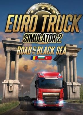 Obal hry Euro Truck Simulator 2: Cesta k Čiernemu moru