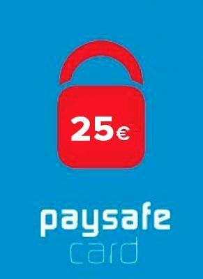 Obal hry PaySafeCard 25€