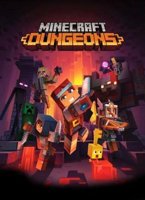 Obal hry Minecraft Dungeons