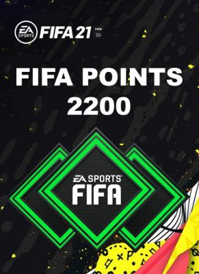 Obal hry FIFA 21 PC 2200 FIFA POINTS