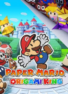 Obal hry Paper Mario Origami King