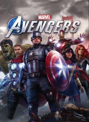 Obal hry Marvels Avengers