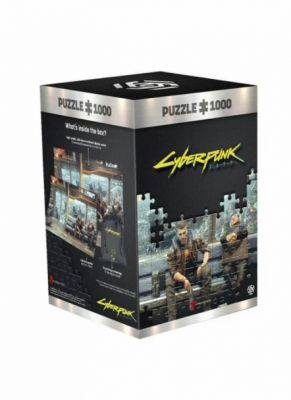 Obal hry Puzzle Cyberpunk 2077