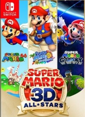 Obal hry Super Mario 3D All Stars