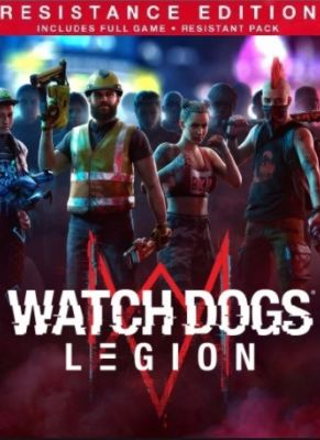 Obal hry Watch Dogs 3 Legion Resistance Edition