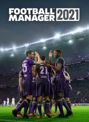 Obal hry Football Manager 2021