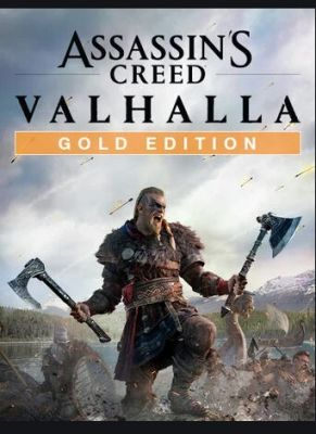 Obal hry ASSASSIN'S CREED: VALHALLA GOLD EDITION