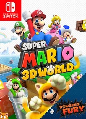 Obal hry Super Mario 3D World + Bowsers Fury