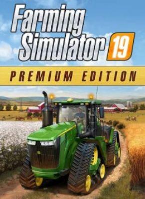 Obal hry Farming Simulator 19 PREMIUM Edition