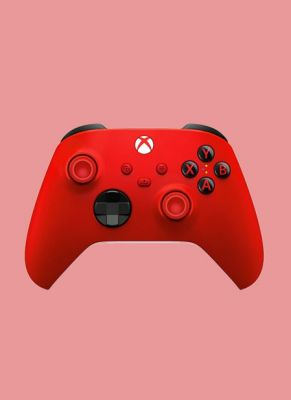 Obal hry Microsoft Xbox Wireless Controller - Pulse Red