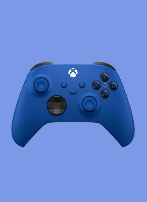 Obal hry Microsoft Xbox Wireless Controller - Shock Blue