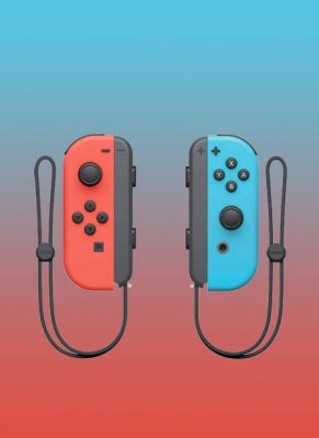 Obal hry Nintendo Joy-Con Pair 2-Pack Neon Red/Neon Blue