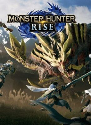 Obal hry Monster Hunter Rise