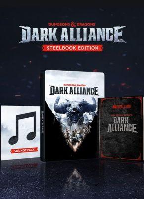 Obal hry Dungeons & Dragons Dark Alliance Steelbook