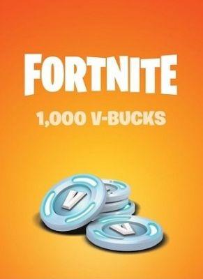 Obal hry Fortnite 1000 V-Bucks