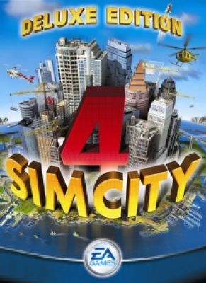 Obal hry SimCity 4 Deluxe Edition