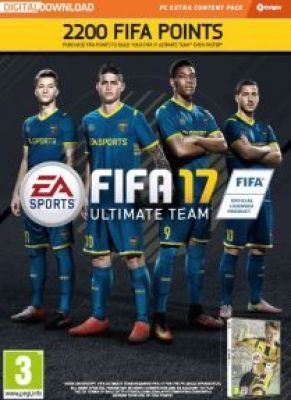 Obal hry FIFA 17 PC 2200 FUT Points