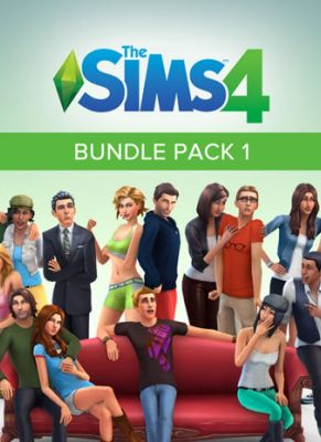 Obal hry The Sims 4 Bundle Pack 1