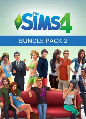Obal hry The Sims 4 Bundle Pack 2