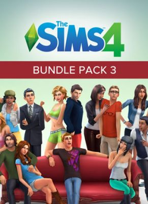 Obal hry The Sims 4 Bundle Pack 3