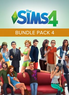 Obal hry The Sims 4 Bundle Pack 4