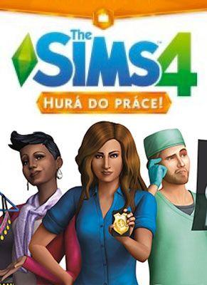 Obal hry The Sims 4 Hurá do práce