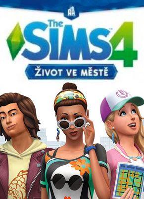 Obal hry The Sims 4 Život v Meste