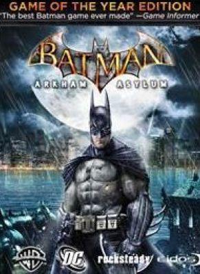 Obal hry Batman Arkham Asylum GOTY