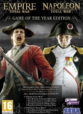 Obal hry Empire & Napoleon: Total War GOTY