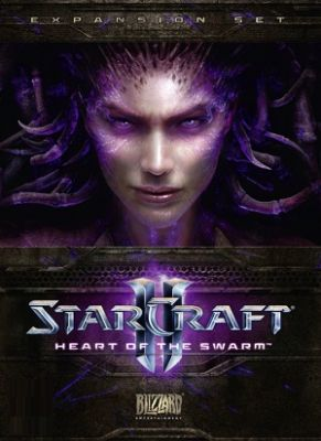 Obal hry Starcraft 2: Heart of the Swarm