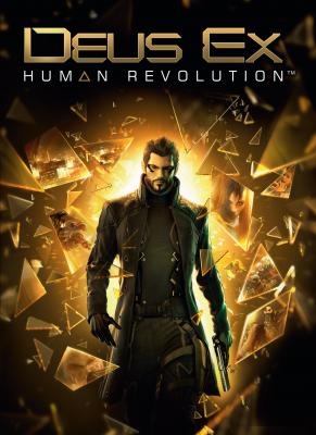 Obal hry Deus Ex: Human Revolution