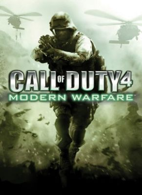 Obal hry Call of Duty 4: Modern Warfare