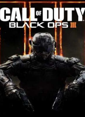 Obal hry Call of Duty: Black Ops 3