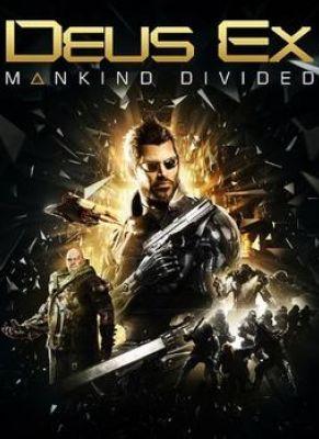 Obal hry Deus Ex: Mankind Divided