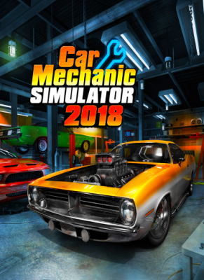 Obal hry Car Mechanic Simulator 2018