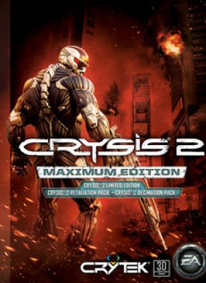Obal hry Crysis 2 Maximum Edition