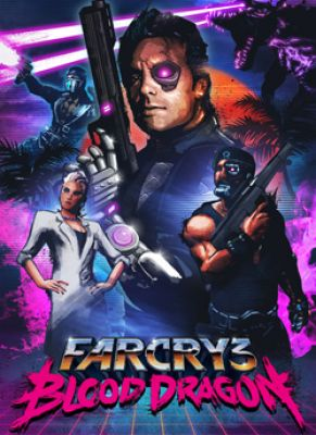 Obal hry Far Cry 3: Blood Dragon