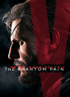 Obal hry Metal Gear Solid 5: The Phantom Pain