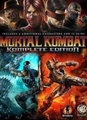 Obal hry Mortal Kombat Komplete Edition