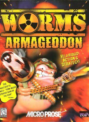 Obal hry Worms Armageddon